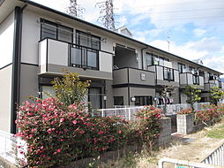 大阪府高槻市西冠1丁目の賃貸アパートの外観