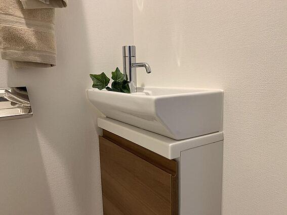 トイレ内手洗い...