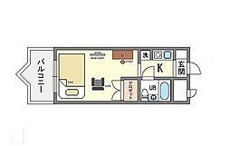 家具・家電付きメゾン・ド・コンフォート  リノルーム[10階]の間取り