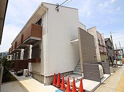 千葉県我孫子市天王台3丁目の賃貸アパートの外観