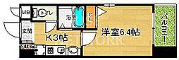 エイペックス京都新京極I[404号室号室]の間取り