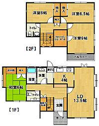 [一戸建] 茨城県つくば市松代5丁目 の賃貸【茨城県 / つくば市】の間取り