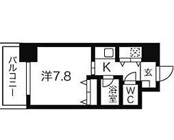 AXIS桜通内山[12階]の間取り