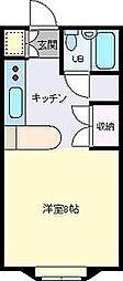 レア・G・ハウス[102号室]の間取り