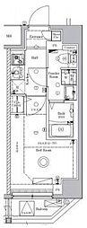 JR総武線 新小岩駅 徒歩8分の賃貸マンション 5階1Kの間取り