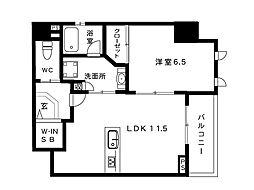 LAFFICE住吉本町[2階]の間取り