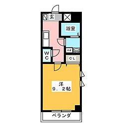 仮)富士永田町マンション[4階]の間取り
