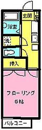 ステージア園生[1階]の間取り