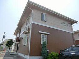 兵庫県姫路市飾磨区中島629の賃貸アパートの外観