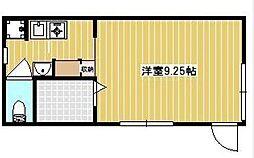 バウムハウス赤塚[F号室号室]の間取り
