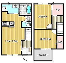 (仮)武庫之荘6丁目ハイツ A棟[102号室号室]の間取り