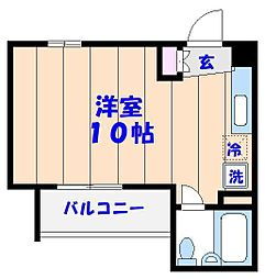 オネスティ船橋11番館[502号室]の間取り