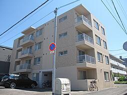 北海道札幌市北区北38条西6丁目の賃貸マンションの外観
