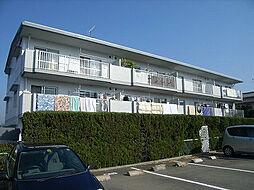 福岡県糟屋郡粕屋町長者原西2の賃貸マンションの外観