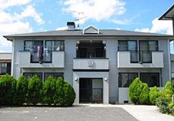 岡山県総社市中央4丁目の賃貸アパートの外観