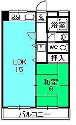 ポコアポコさくら夙川メゾン[306号室]の間取り