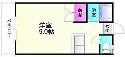 ヌーベル笹原[1階]の間取り