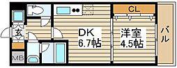 シャルマンフジ福島[6階]の間取り