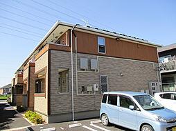 千葉県松戸市大金平4丁目の賃貸アパートの外観