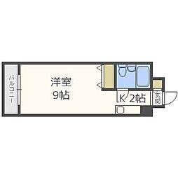 メゾン・ド・グル—[7階]の間取り