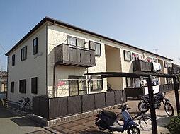愛媛県松山市余戸南5丁目の賃貸アパートの外観