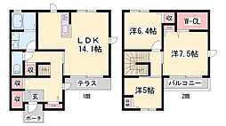 英賀保駅 10.0万円
