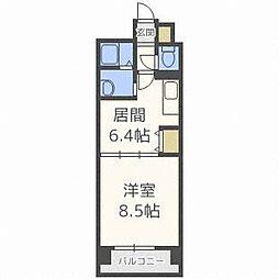 FLAT-A[5階]の間取り