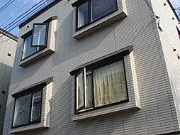 北海道札幌市北区北二十八条西7丁目の賃貸アパートの外観