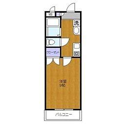 グリーンコート2[2階]の間取り