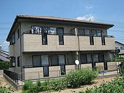 愛知県安城市古井町十王堂の賃貸アパートの外観