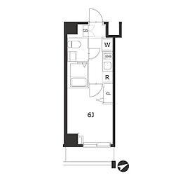 ラフィスタ川崎IV[4階]の間取り