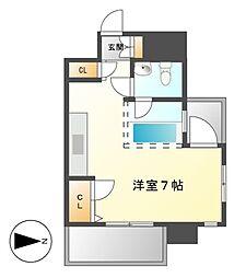 エスケービルディング6(SK BUILDING6)[6階]の間取り