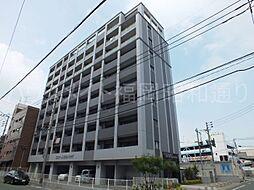 福岡県福岡市中央区港1の賃貸マンションの外観