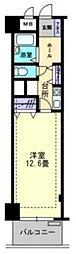 香川県高松市花ノ宮町1丁目の賃貸マンションの間取り