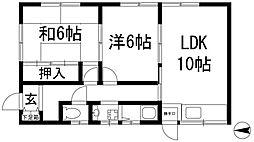 [テラスハウス] 兵庫県宝塚市宮の町 の賃貸【/】の間取り