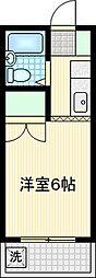 エクセル[302号室]の間取り