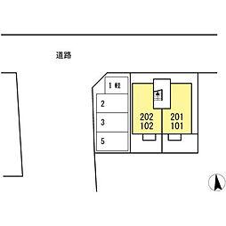 愛知県安城市今池町3丁目の賃貸アパートの外観