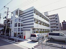 大阪府大阪市東住吉区湯里5丁目の賃貸アパートの外観