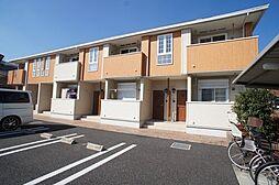 埼玉県日高市大字新堀新田の賃貸アパートの外観