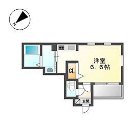 Cherim上飯田[3階]の間取り