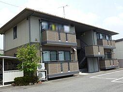 群馬県高崎市大八木町の賃貸アパートの外観