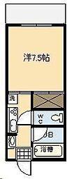 第2尚陽ビル[402号室]の間取り