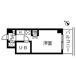 ウインベルソロ南太田第2[0603号室]の間取り