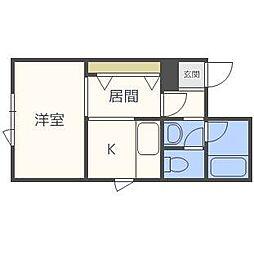 K・I 47[1階]の間取り