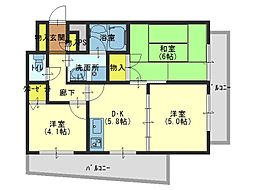 大阪府大阪市中央区玉造1丁目の賃貸マンションの間取り