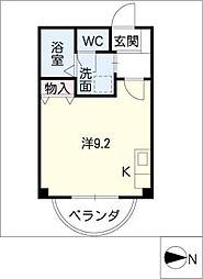 マンションアベニュー[2階]の間取り