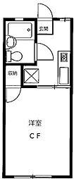 アーバンライフ21[1階]の間取り