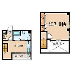 東京都江東区大島8丁目の賃貸マンションの間取り