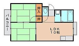 プレジール光葉台[2階]の間取り