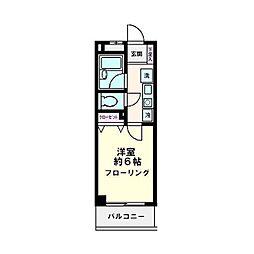 アンビシャス21新川崎[0105号室]の間取り